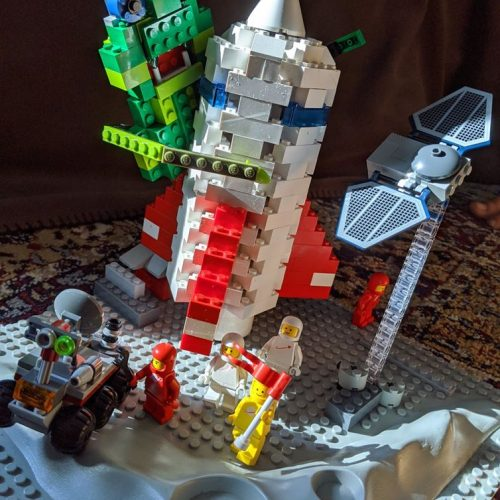 Blast off to the moon - By elijah & Hudson Brothers