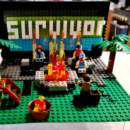 Survivor TV Show Scene - By Archie 10yo